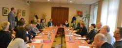 Merės Nijolės Dirginčienės susitikimas su savivaldybės verslo atstovais