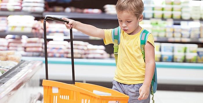 Ką turi žinoti pirkdamas maistą vaikams?