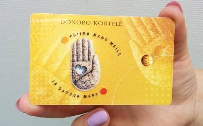 donoro_kortele