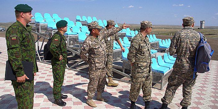 LT inspekcija Kazachstane 2014 m. LK GKS archyvo nuotrauka