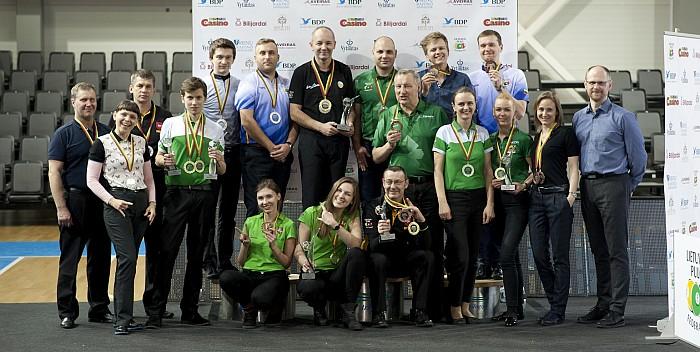 Baigėsi Lietuvos pulo čempionatas
