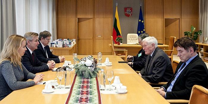 Seimo Pirmininkas: Edukologijos universitetas ir Vytauto Didžiojo universitetas ketina susijungti iki metų pabaigos