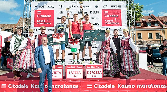 Penktajame Kauno maratone – permainingas oras, nauji rekordai ir Vytauto Beliūno triumfas