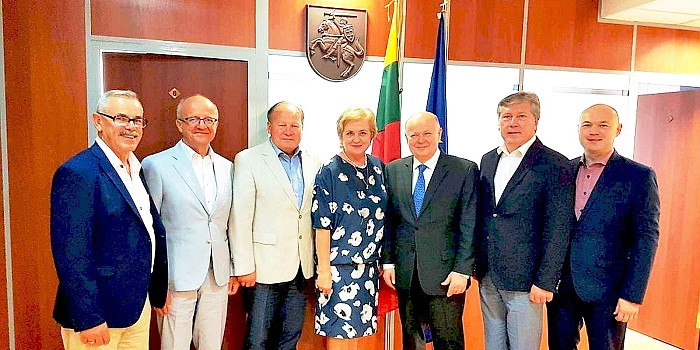 Savivaldybių merai su oficialiu vizitu lankėsi Kazachstano Respublikoje