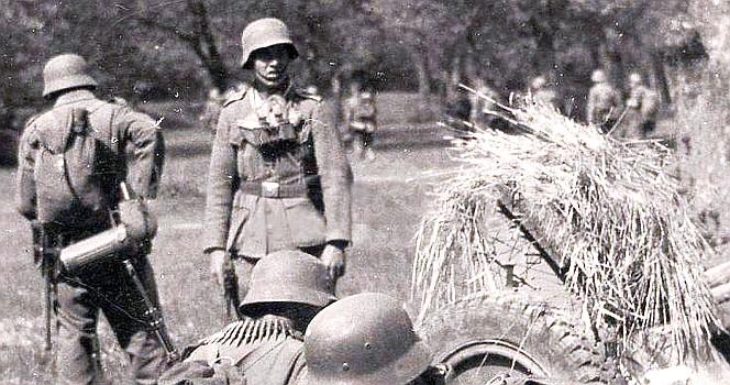 Pirmoji karo diena mano tėviškėje