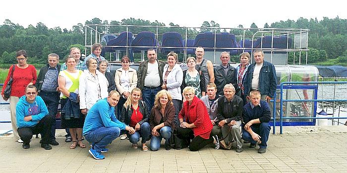 Kašonių bendruomenės kelionė laivu