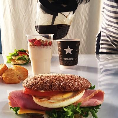 Lietuviai pusryčiams dažniausiai skiria iki 2 eurų, renkasi sumuštinius su kava