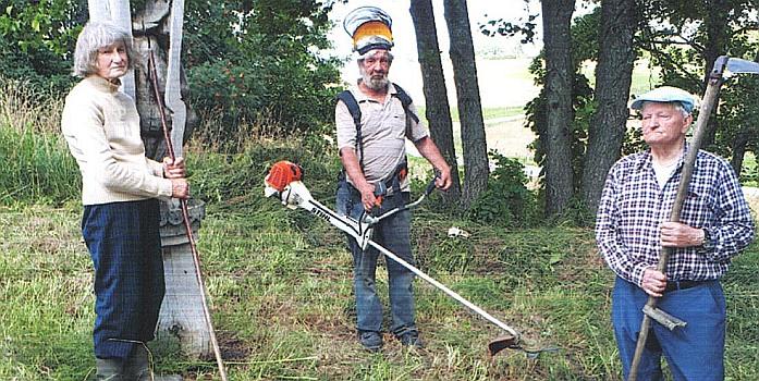 Apie Kunigiškių Ramybės kalnelio būklę