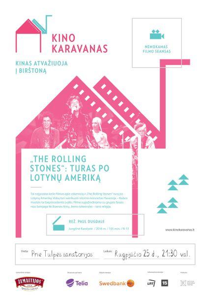 """Birštone – filmo apie grupę """"The Rolling Stones"""" nemokamas seansas"""