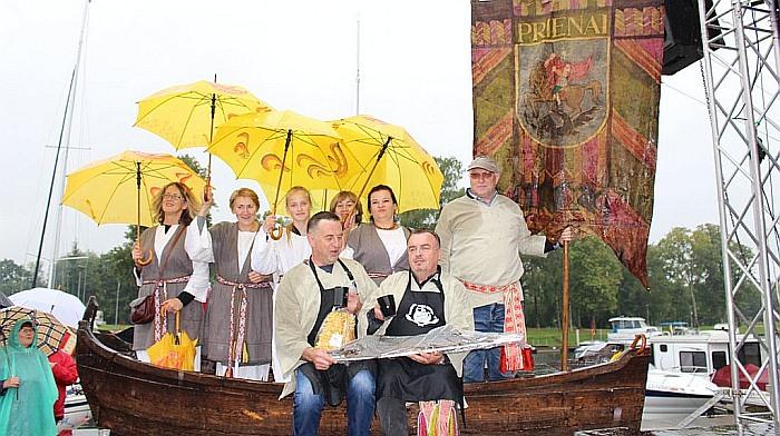 """Komanda """"Nemuno kilpų regiono žvejai"""" – Unikaliausia Žuvienės virimo čempionato komanda"""
