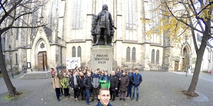 """Veiveriečių tarptautinis edukacinis projektas """"J. S. Bacho keliu"""""""