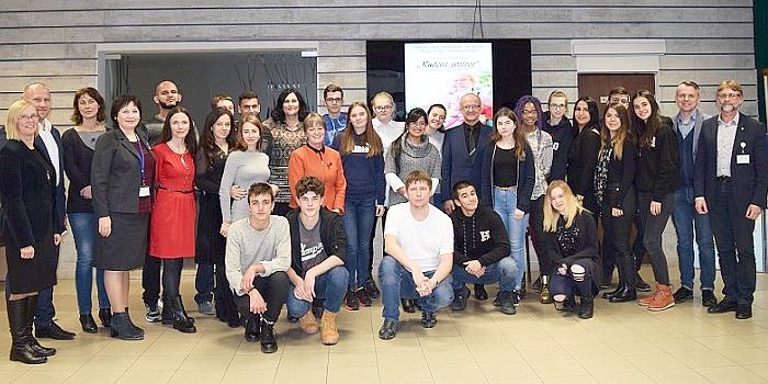 Savivaldybėje lankėsi tarptautinio švietimo projekto dalyviai