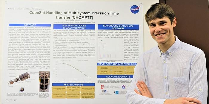 VGTU studento įspūdžiai NASA: Lietuva yra žinoma pasaulyje kaip turinti potencialą vystyti mažuosius palydovus