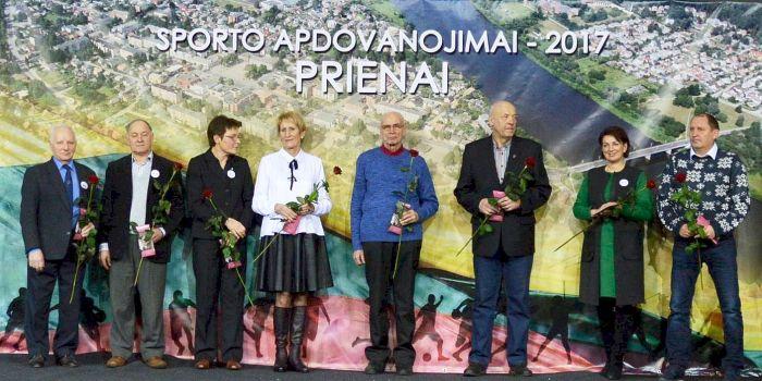 50-metį švenčiančiame Prienų kūno kultūros ir sporto centre – apdovanojimai Prienų kraštą garsinantiems sportininkams