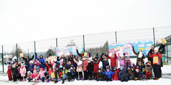 Pasaulinę sniego dieną sveikino Seniai besmegeniai (nuotraukos)