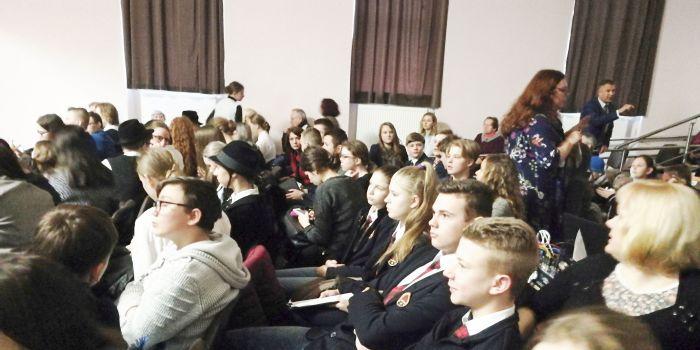"""Dalyvavome konferencijoje """"Lietuvos miestuose ir miesteliuose gyvenusių žydų istorijos"""""""