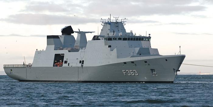 Į Klaipėdos uostą įplauks Danijos fregata