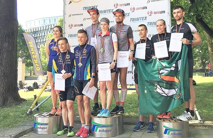 """OSK """"Šilas"""" bei Prienų KKSC atstovai parsivežė šešis asmeninius medalius ir bronzą"""