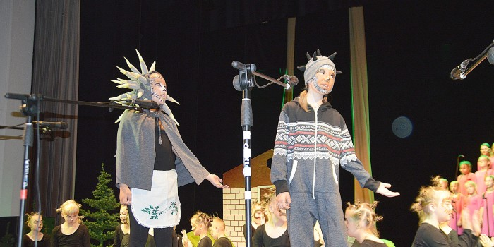 Prienų KLC didžiojoje scenoje – muzikinė pasaka vaikams