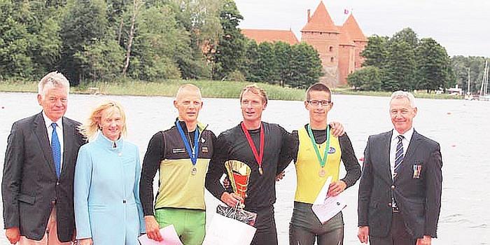 Paulius Černevičius tarptautinėje irklavimo regatoje iškovojo 3-ią vietą