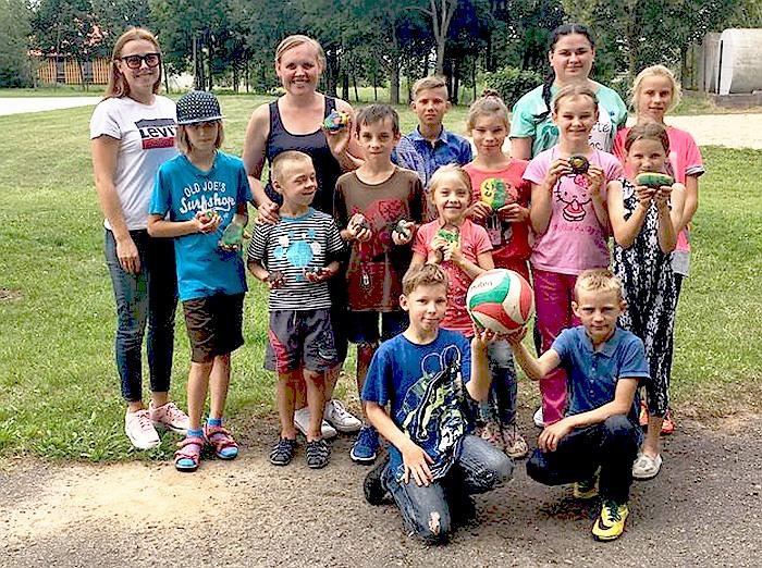 """Pusės dienos stovykla Šilavote ,,Šimtmečio vaikai"""""""