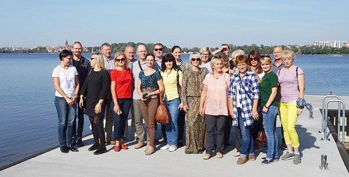 Birštono delegacija dalyvavo baigiamojoje projekto konferencijoje Elke, Lenkijoje