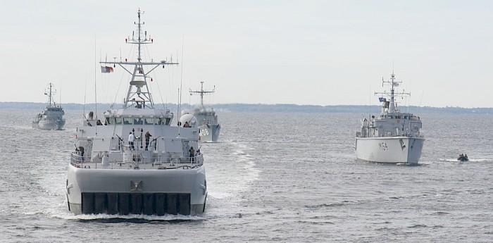 NATO laivai atvyksta į Lietuvą