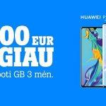 """Ypatingas """"Tele2"""" pasiūlymas: naujieji """"Huawei P30"""" serijos flagmanai – 100 eur pigiau"""