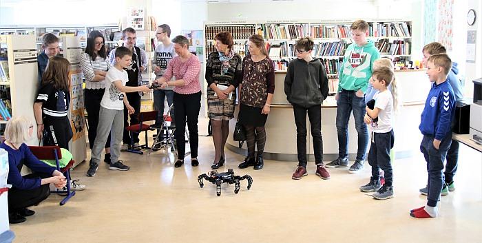Birštono viešojoje bibliotekoje – nauja Technologijų ir mokslo erdvė
