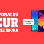 """""""Tele2"""" pasiūlymas: pradinė telefono įmoka – tik 1 Eur"""