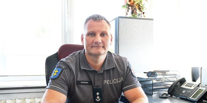 Paskirtas Prienų rajono policijos komisariato viršininkas