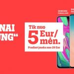 """""""Tele2"""" vasaros pasiūlymas: """"Samsung"""" telefonai tik nuo 5 Eur/mėn., o neriboti GB – dovanų"""