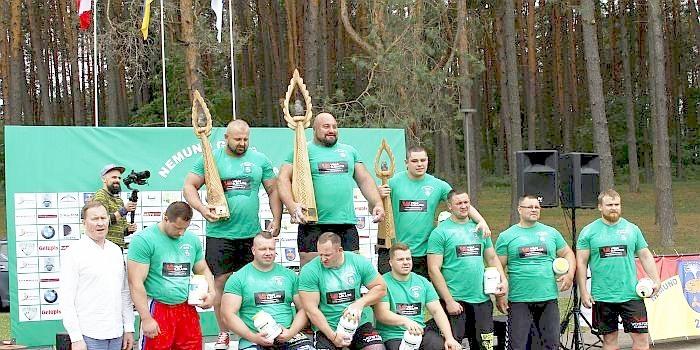 """20-ojo""""Nemuno galiūno"""" čempionato nugalėtojas – Vidas Blekaitis"""