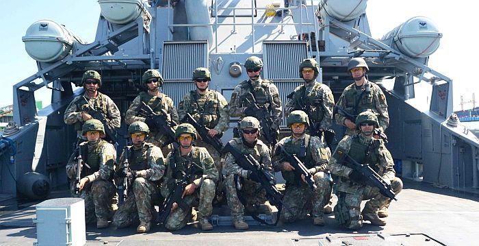Lietuvos kariai išvyksta į ES operaciją ATALANTA prie Somalio krantų