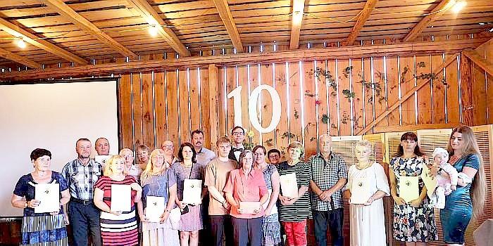 Matiešionių krašto bendruomenė paminėjo savo veiklos dešimtmetį