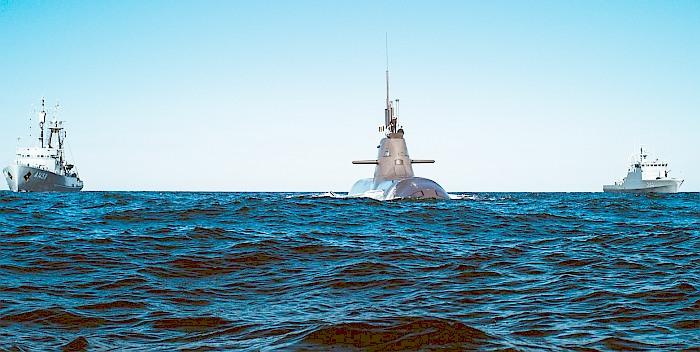 Į Lietuvą atplauks Vokietijos povandeninis laivas
