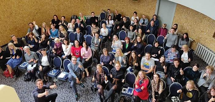 Mokymuose apie ES ir institucijų komunikaciją: svarbiausia – profesionalumas, inovatyvumas, kūrybiškumas