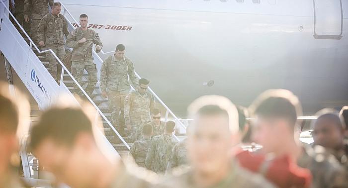 Į Lietuvą atvyko pirmieji JAV  rotacinių  pajėgų kariai