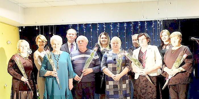 Birštono vienkiemio bendruomenės šventinis vakaras