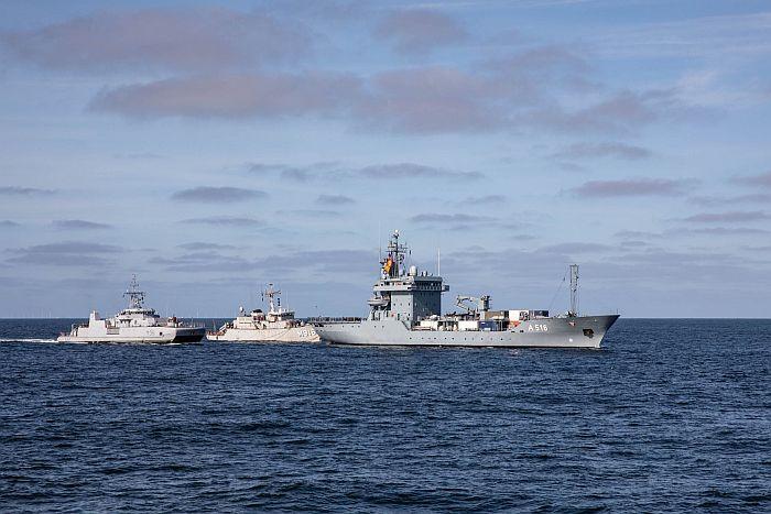Lietuvoje lankysis NATO Nuolatinės parengties priešmininių laivų grupės laivai